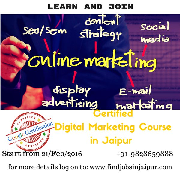 DigitalMarketing Jaipur googlecertified